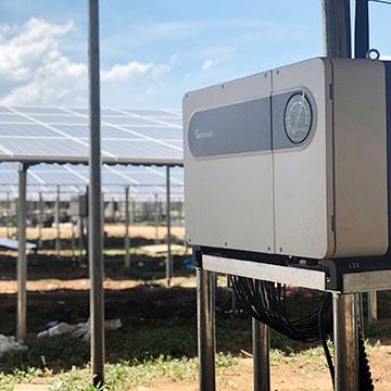 Trạm Điện mặt trời thương mại