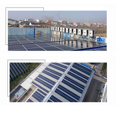 Giới thiệu 4 hệ thống điện mặt trời thương mại Growatt