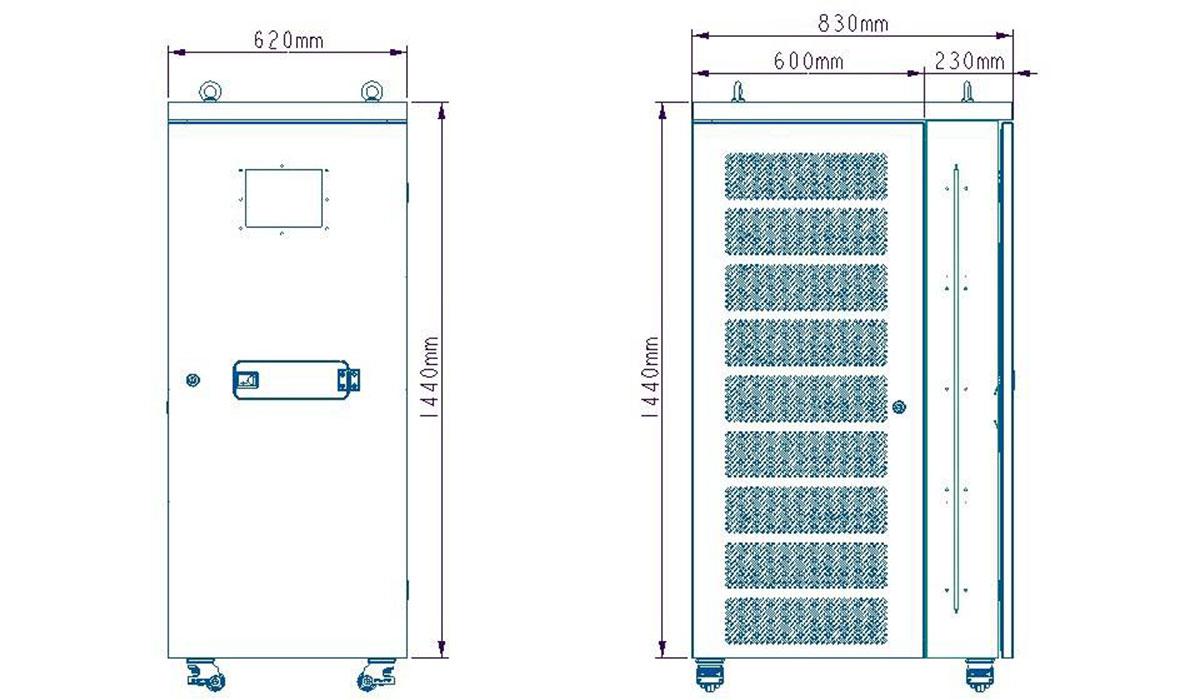 Giải pháp lưu trữ Điện mặt trời BSP ESS 48V 20kWh