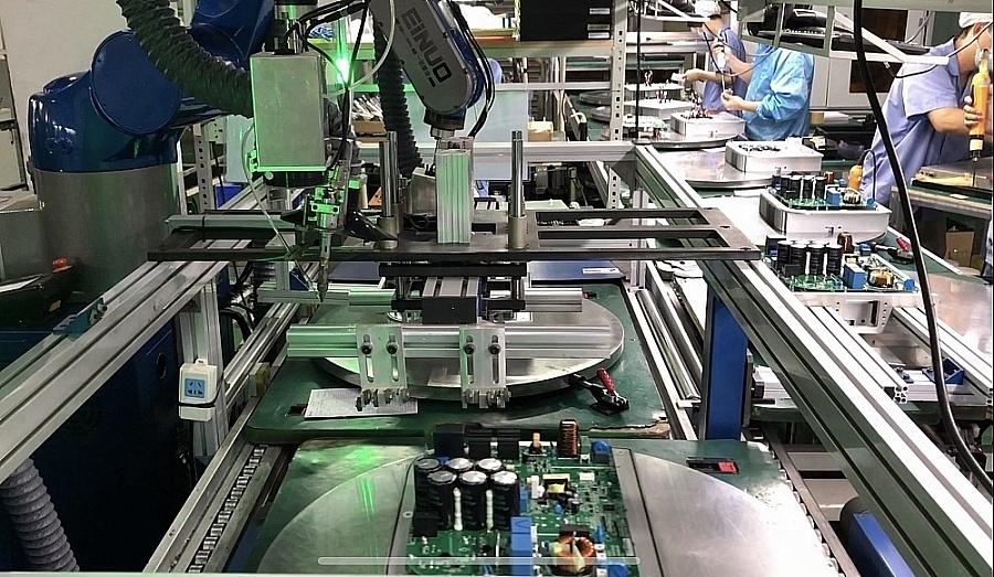 Dây chuyền sản xuất hiện đại