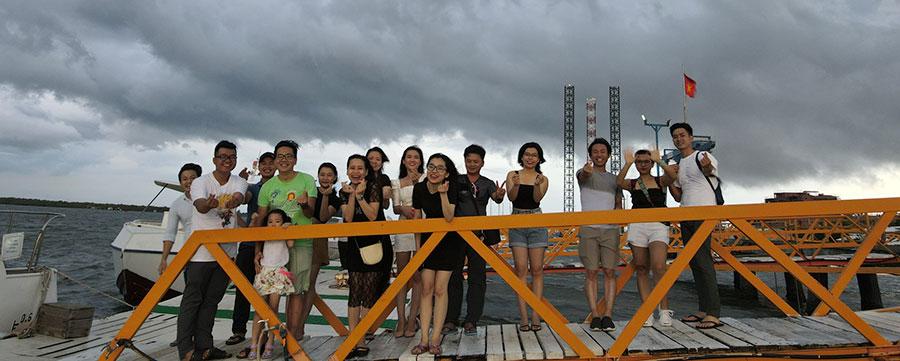 Công ty Alena tổ chức teambuilding tại Vũng Tàu