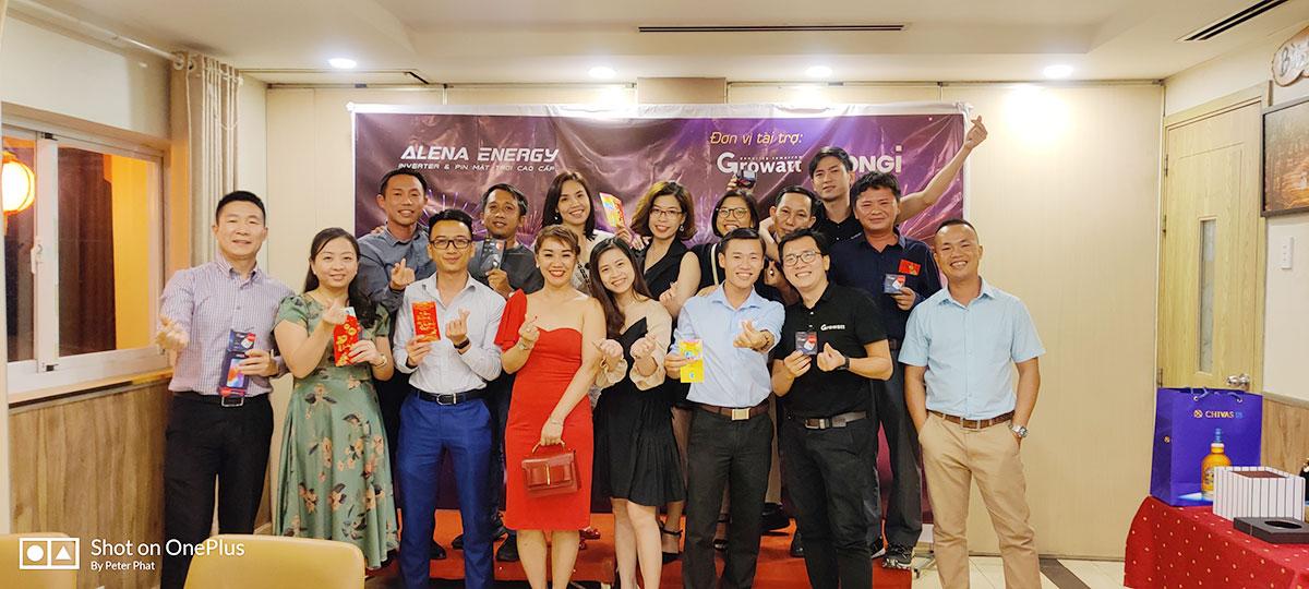 Công ty Alena tổ chức Tất niên 2020