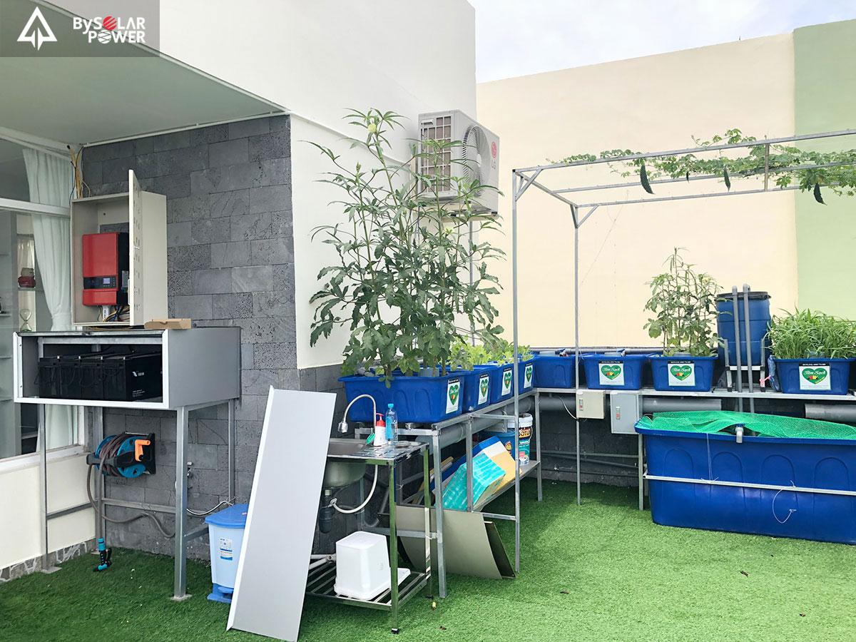 Hệ thống lưu trữ điện mặt trời