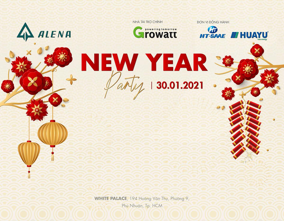 Backdrop Sự kiện Gala New Year Party 2021 – Alena Energy