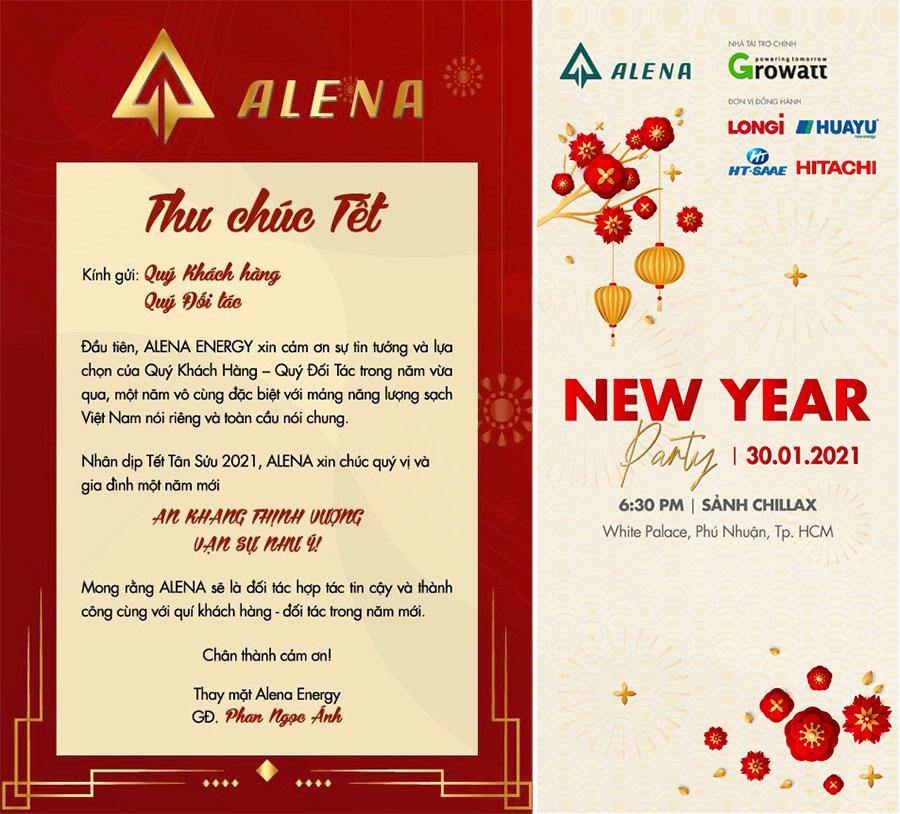 Thư chúc Tết 2021 – Alena Energy