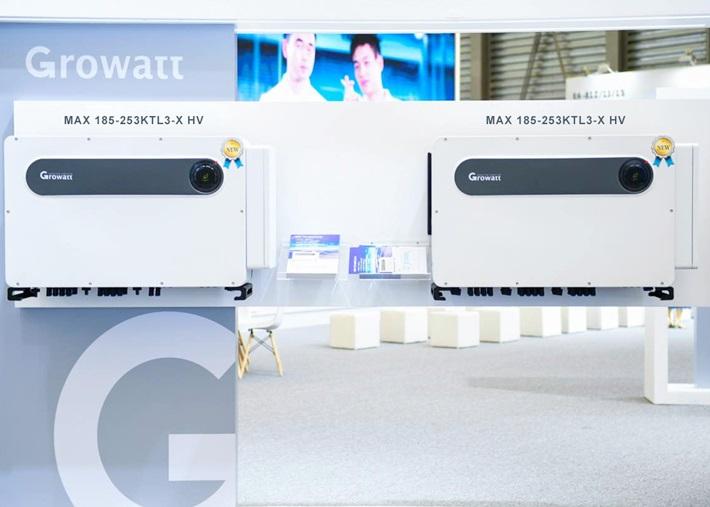 Biến tần thế hệ mới MAX 185-253KTL3-X HV sử dụng cho các nhà máy điện mặt trời quy mô lớn.