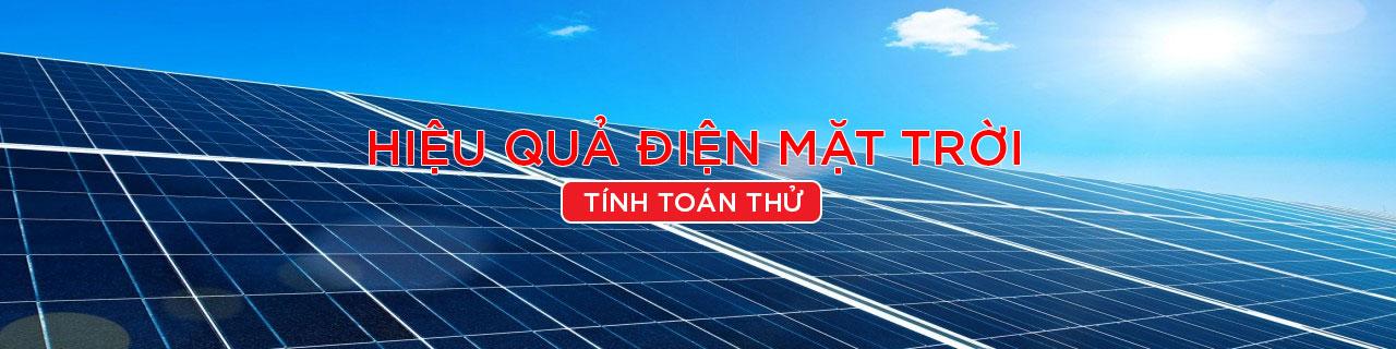 Hiệu quả điện mặt trời