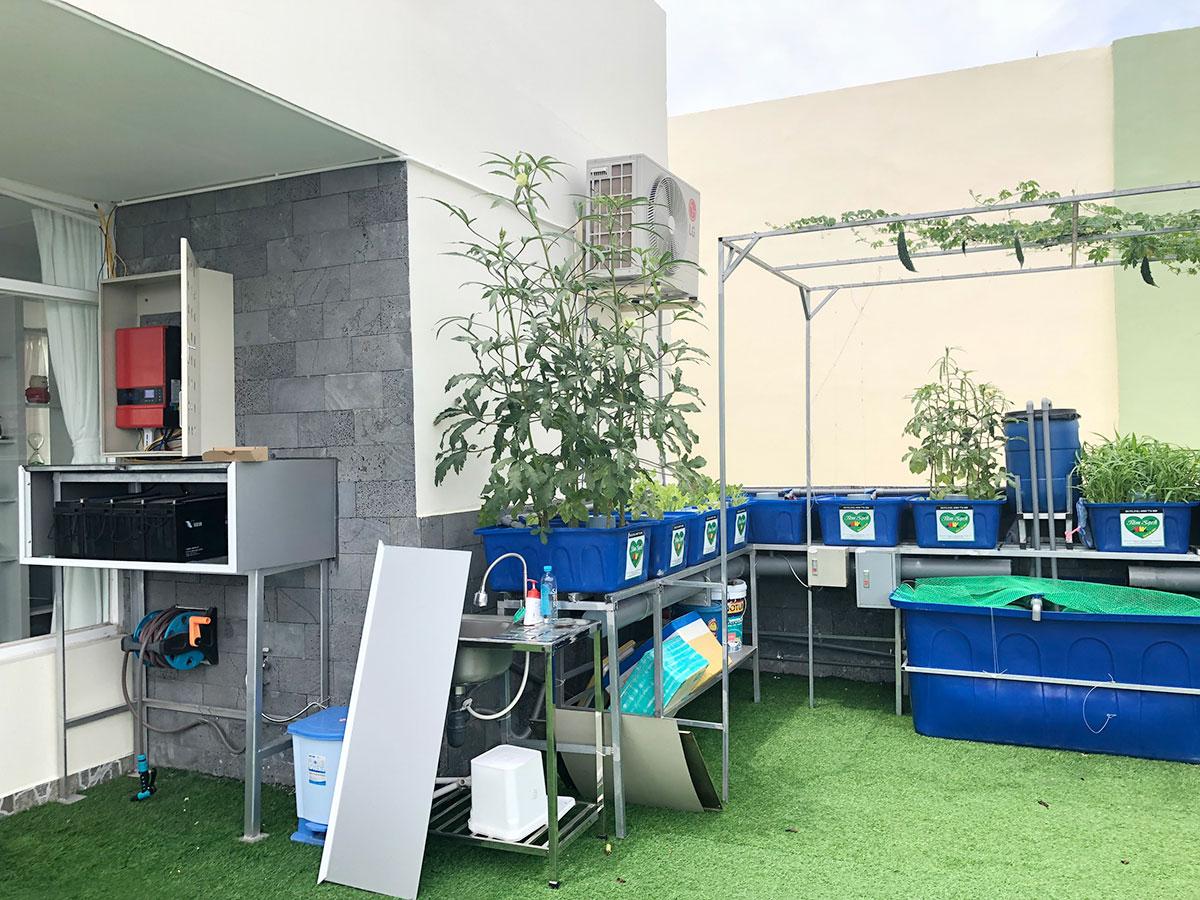 hệ thống điện mặt trời offgrid sử dụng BSP 5S tại Q7