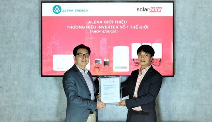 Alena Energy giới thiệu thương hiệu inverter số 1 thế giới