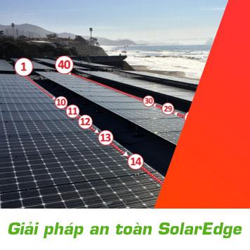 Giải pháp an toàn SolarEdge cho hệ thống điện mặt trời