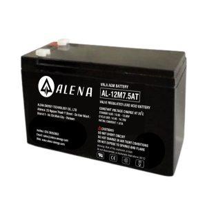 Ắc quy axit chì van kín khí AL-12M7.5AT 12V 7.5AH