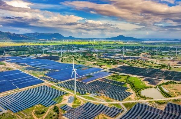 Trang trại Điện năng lượng tái tạo tại Ninh Thuận