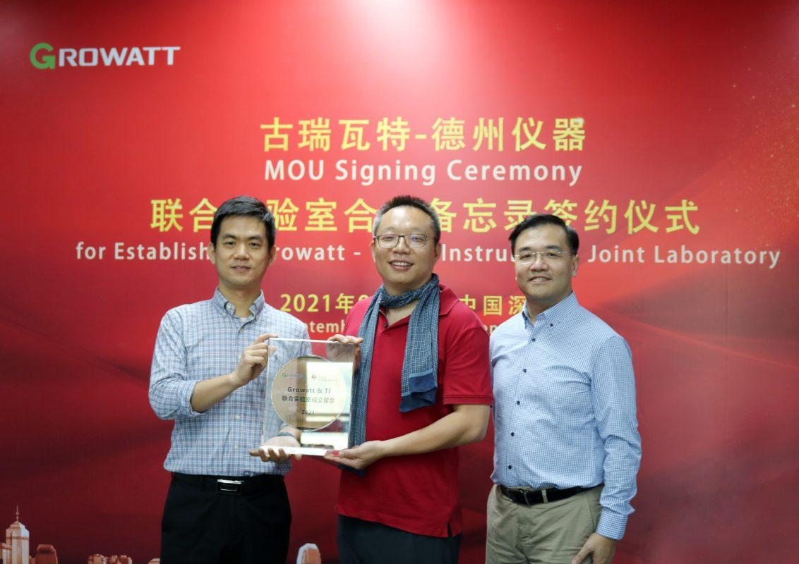 Growatt thành lập phòng thí nghiệm với công ty Texas Instruments phục vụ cho các ứng dụng năng lượng bền vững