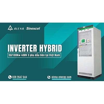 Nguyên lý hoạt động cơ bản của hệ thống nlmt hybrid lưu trữ công nghiệp Sinexcel