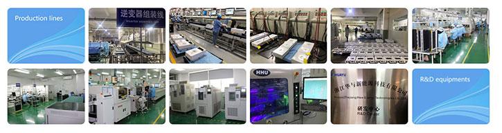 Dây chuyền sản xuất và nghiên cứu phát triển sản phẩm của Huayu